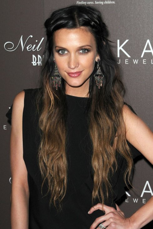Ombre Hair Ashlee Simpson