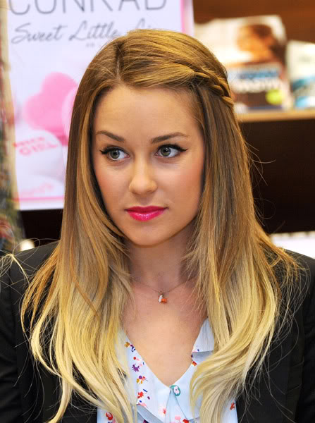Lauren Conrad Blonde Ombre Hair Lower Part