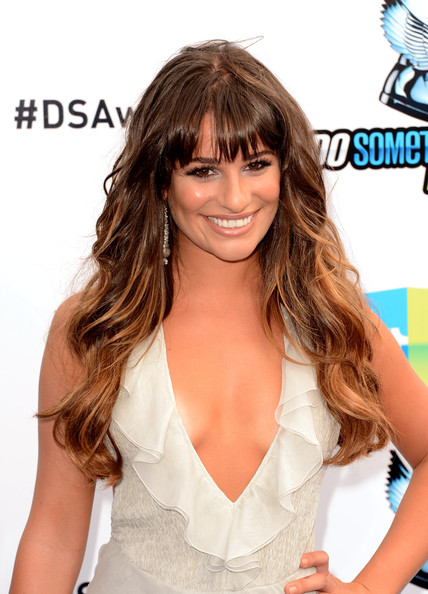Michele Lea Ombre Hair