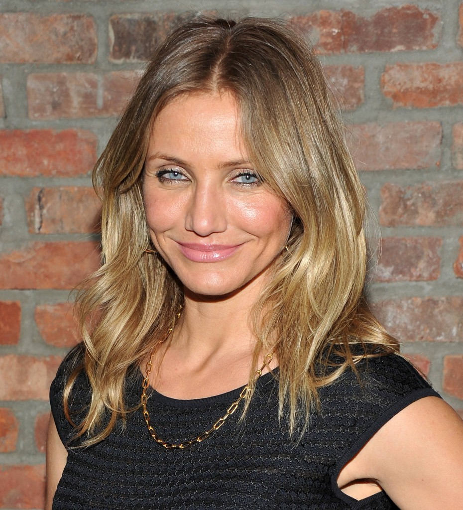 cameron diaz subtle ombre hair