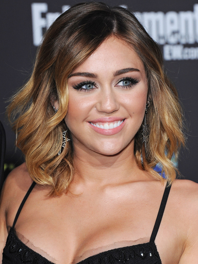 miley short ombre