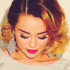 Miley cyrus short ombre hair