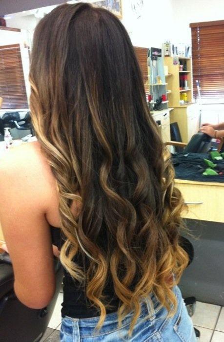 Ombre Hair Pinterest