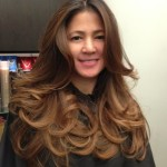 mocha ombre on asian hair