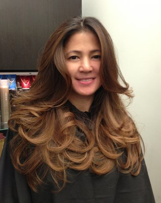 ... for Asian Women Who Want to Try Sporting Ombre-Hair Looks - Ombre Hair