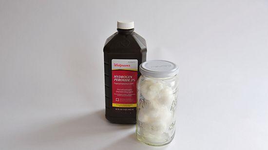 ombre hair hydrogen peroxide