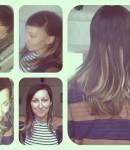 Ombre short hair