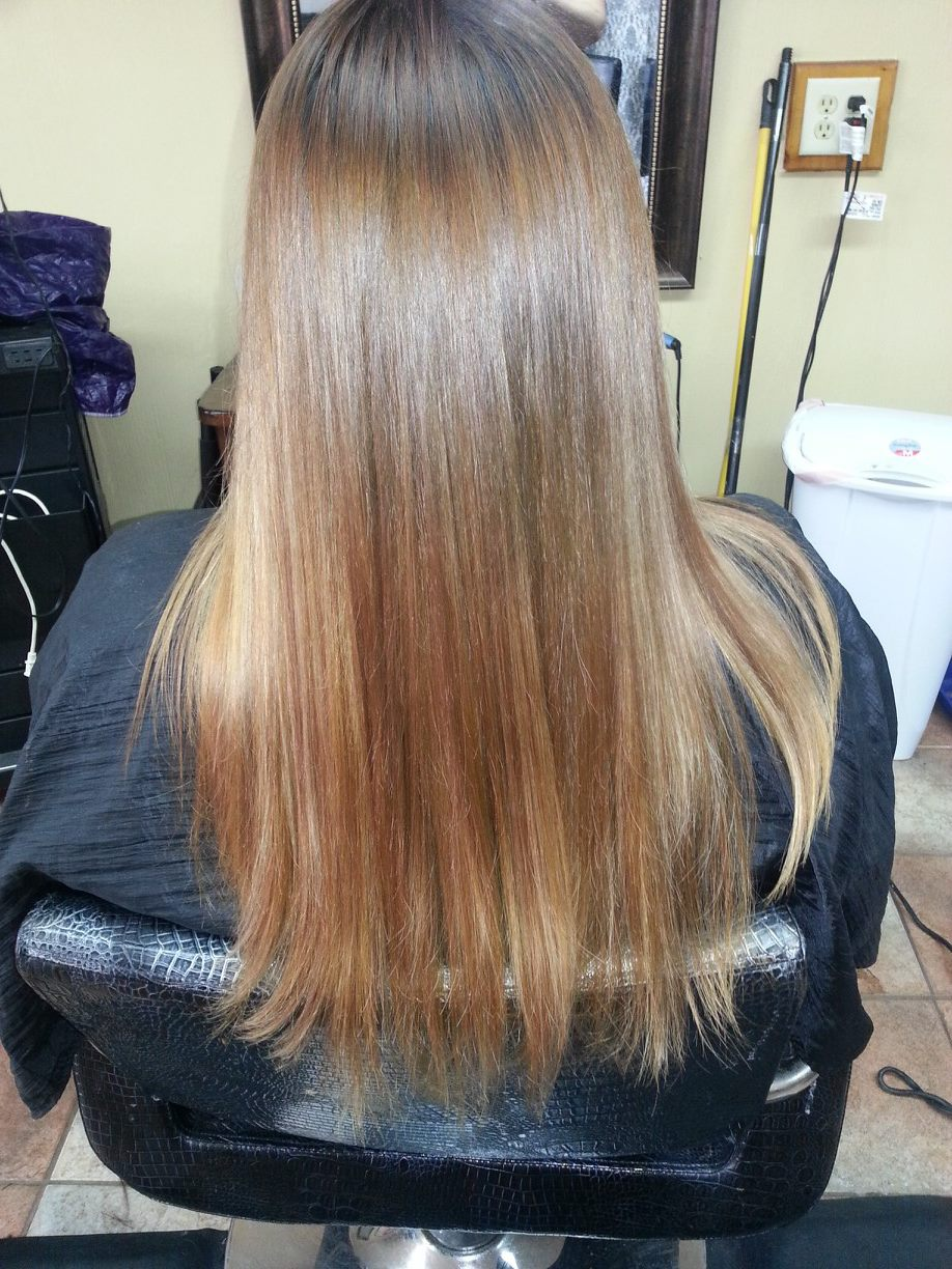 ombre hair by janeth hernandez texas