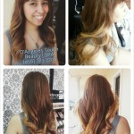 ombre hair creation of janeth hernandez