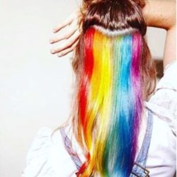 hidden rainbow long hair 2