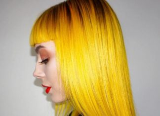sunflower yellow hair color